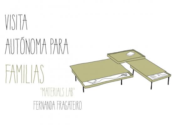 Visita familias. Fernanda Fragateiro